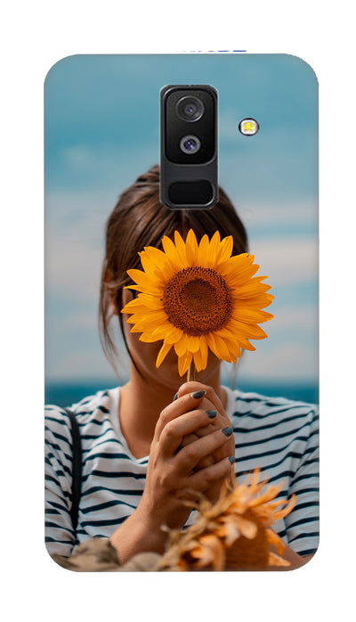 Sunflower Hard Case For Samsung A6 Plus