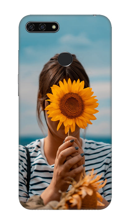 Sunflower Hard Case For Honor 7A
