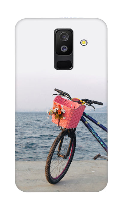 Sea bycycle Hard Case For Samsung A6 Plus