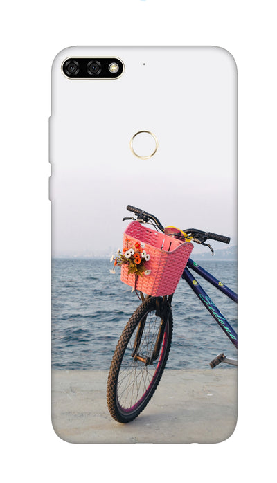 Sea bycycle Hard Case For Honor 7C