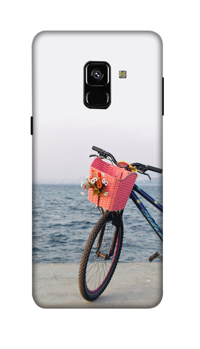 Sea bycycle Hard Case For Samsung A8