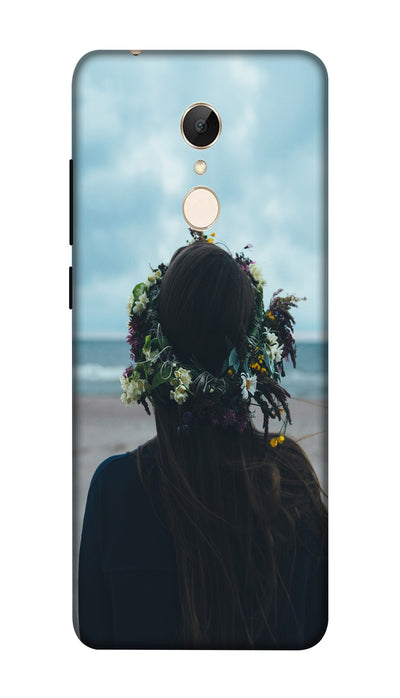 Pampering girl Hard Case For Redmi 5