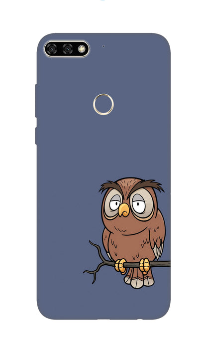 Angry owl Hard Case For Honor 7C