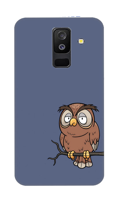 Angry owl Hard Case For Samsung A6 Plus
