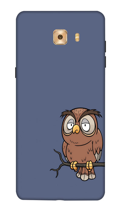 Angry owl Hard Case For Samsung C7 Pro
