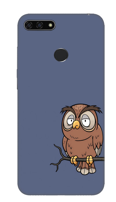 Angry owl Hard Case For Honor 7A