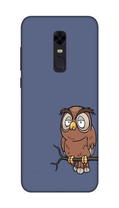 Angry owl Hard Case For Redmi Note 5