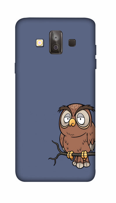 Angry owl Hard Case For Samsung J7 Duo