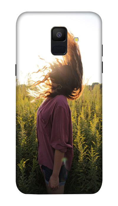 Sunshine girl Hard Case For Samsung A6