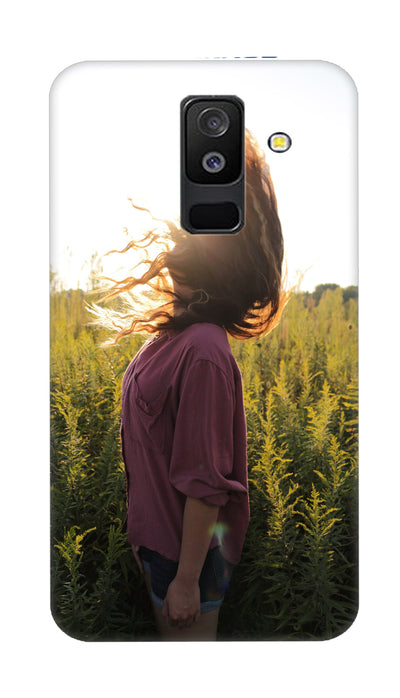 Sunshine girl Hard Case For Samsung A6 Plus