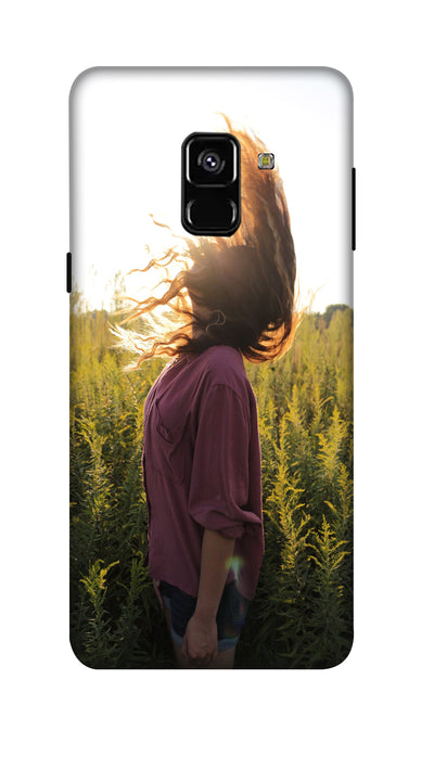 Sunshine girl Hard Case For Samsung A8