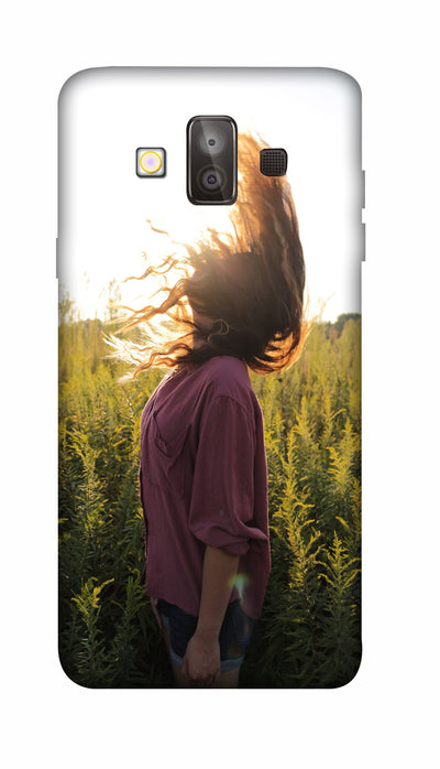 Sunshine girl Hard Case For Samsung J7 Duo