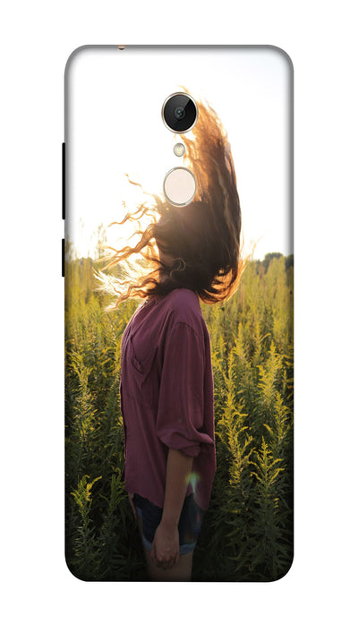 Sunshine girl Hard Case For Redmi 5