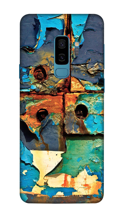 Colored patches Hard Case For Samsung S9 Plus