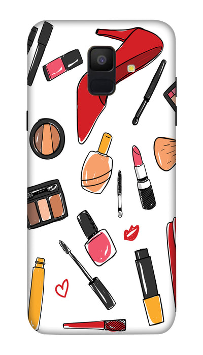 Make up stuffs Hard Case For Samsung A6