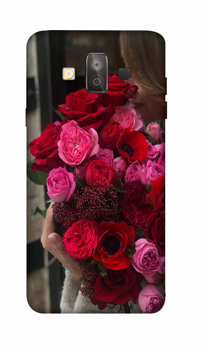 Rose boquet Hard Case For Samsung J7 Duo