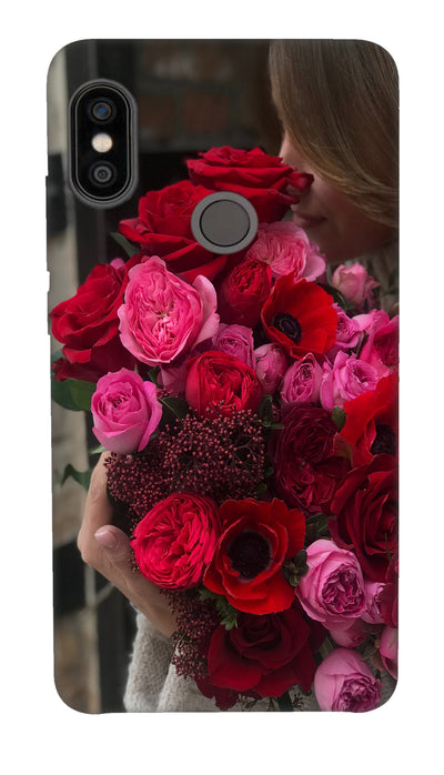 Rose boquet Hard Case For Redmi Note 5 Pro