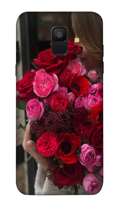 Rose boquet Hard Case For Samsung A6