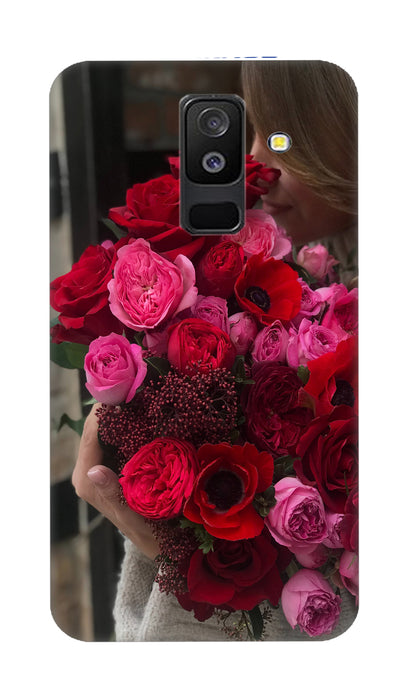 Rose boquet Hard Case For Samsung A6 Plus