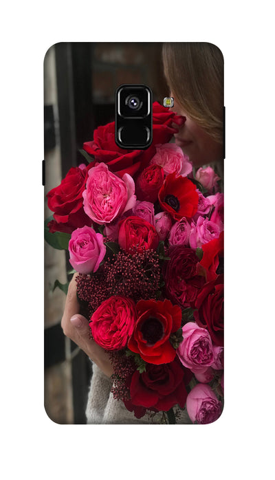 Rose boquet Hard Case For Samsung A8