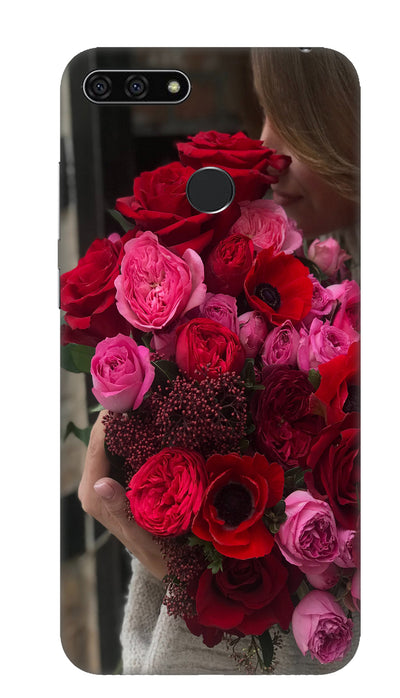 Rose boquet Hard Case For Honor 7A