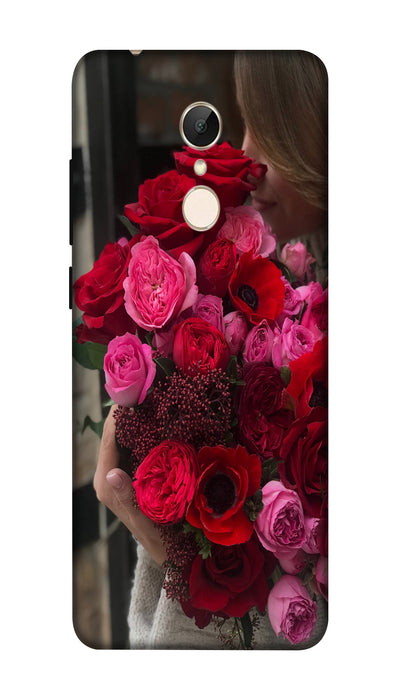 Rose boquet Hard Case For Redmi 5