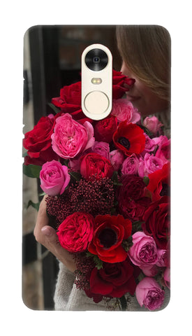 Rose boquet Hard Case For Redmi Note 4
