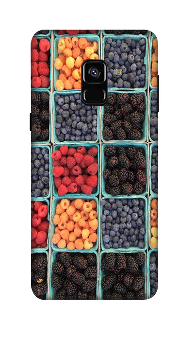 Fruits Hard Case For Samsung A8