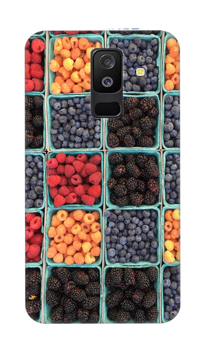 Fruits Hard Case For Samsung A6 Plus