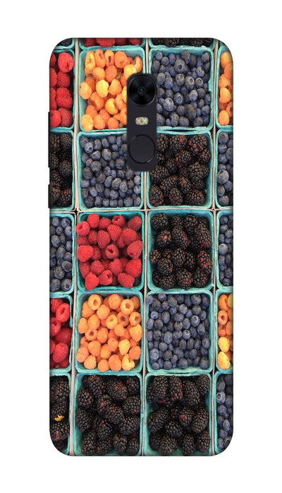 Fruits Hard Case For Redmi Note 5