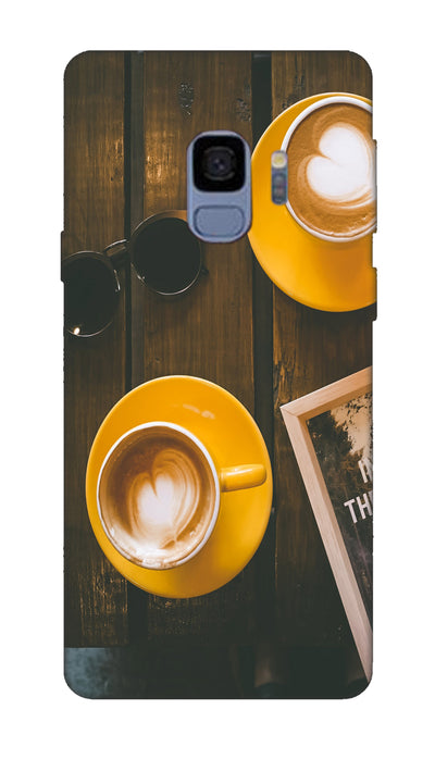 Coffe cup Hard Case For Samsung S9