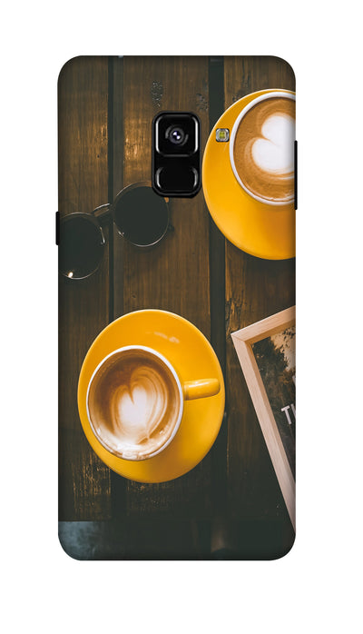 Coffe cup Hard Case For Samsung A8