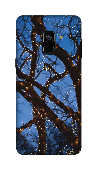 Lighting tree Hard Case For Samsung A8