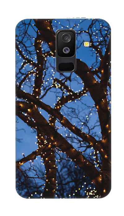 Lighting tree Hard Case For Samsung A6 Plus