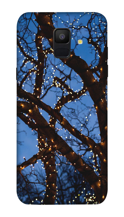 Lighting tree Hard Case For Samsung A6