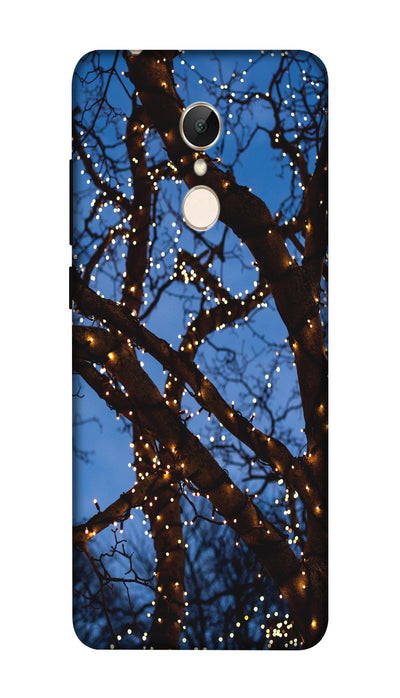 Lighting tree Hard Case For Redmi 5