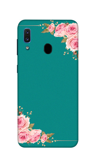 Flower border Hard Case For Samsung A30