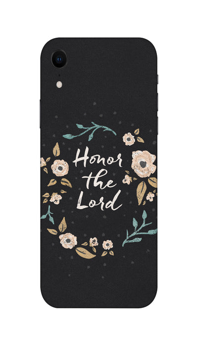 Honor the lord Hard Case For Apple iPhone XR