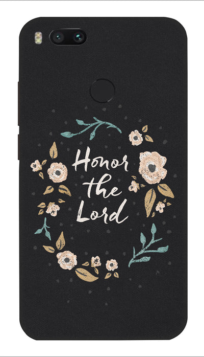 Honor the lord Hard Case For Mi A1