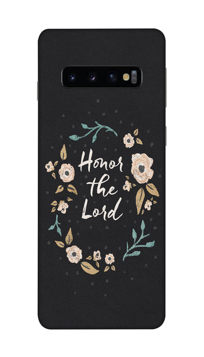 Honor the lord Hard Case For Samsung S10 Plus