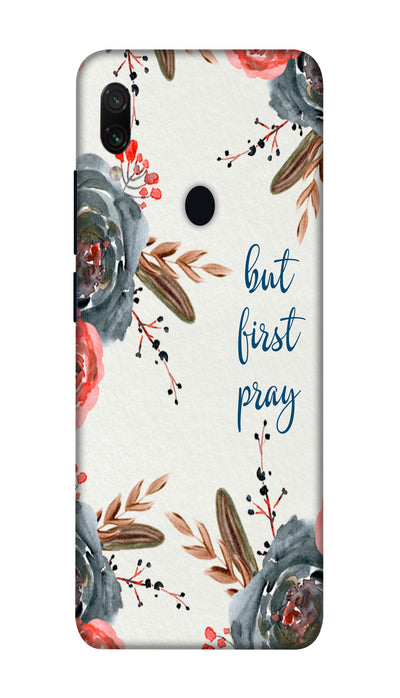 First pray Hard Case For Redmi Note 7 Pro