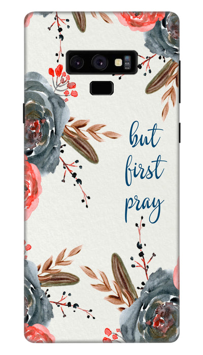 First pray Hard Case For Samsung Note 9