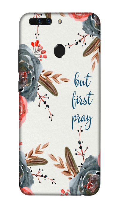 First pray Hard Case For Honor 8 Pro