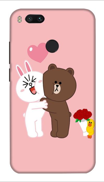Teddy friends Hard Case For Mi A1