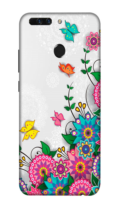 Butterfly art Hard Case For Honor 8 Pro