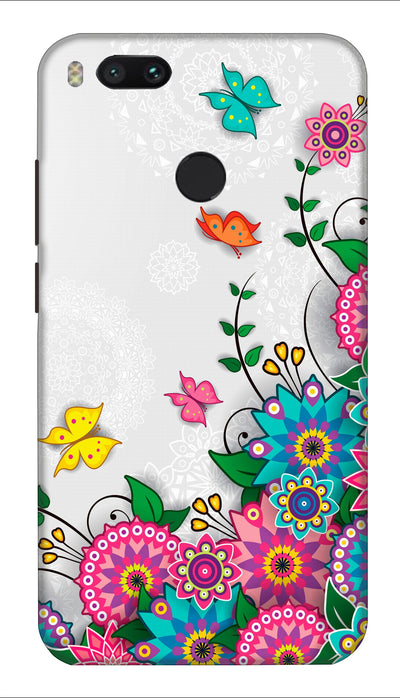 Butterfly art Hard Case For Mi A1