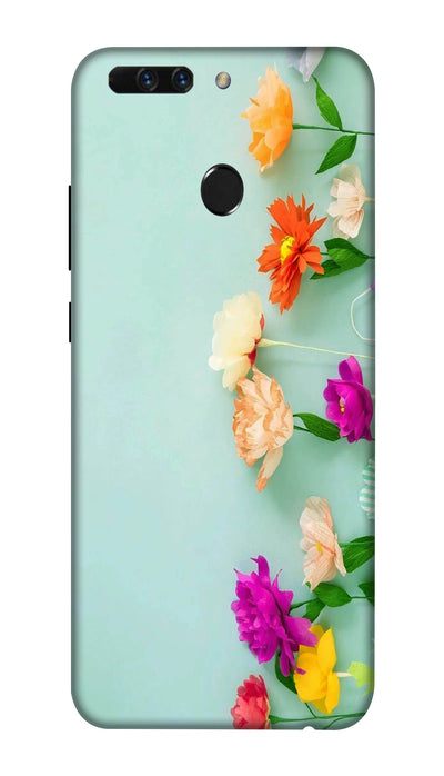 Pretty flower Hard Case For Honor 8 Pro