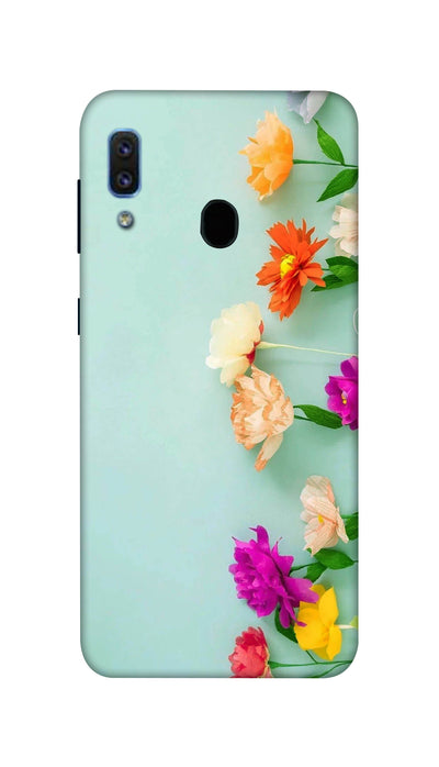 Pretty flower Hard Case For Samsung A30