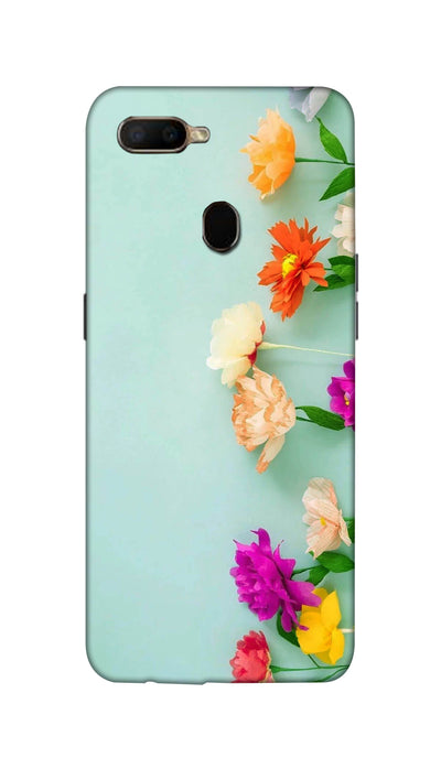 Pretty flower Hard Case For Oppo A5S