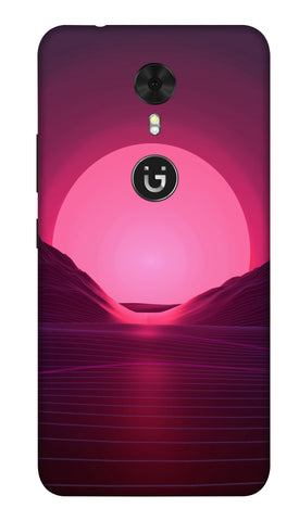 Sunrise Hard Case For Gionee A1